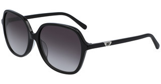 Diane von Fürstenberg DVF666S HEATHER 001 BLACK