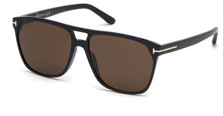 Tom Ford FT0679 01E braunschwarz glanz