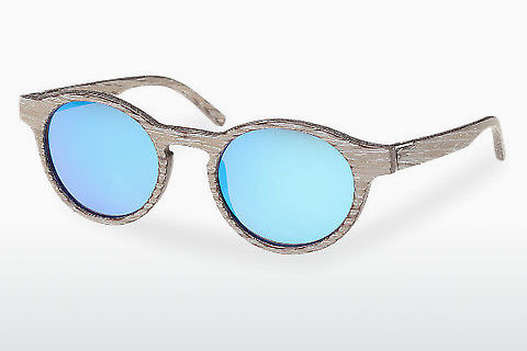 Lunettes de soleil Wood Fellas Flaucher (10754 chalk oak/blue)