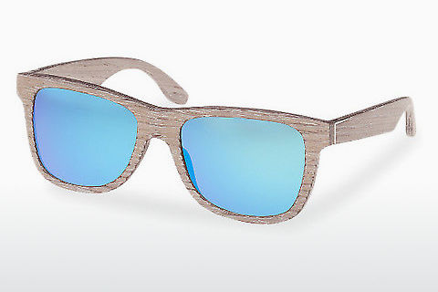 Lunettes de soleil Wood Fellas Prinzregenten (10755 chalk oak/blue)