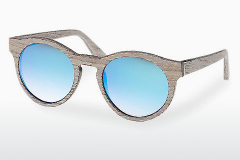 Lunettes de soleil Wood Fellas Au (10756 chalk oak/blue)