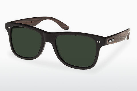 Lunettes de soleil Wood Fellas Lehel (10757 rosewood/black/green)