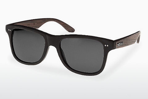 Lunettes de soleil Wood Fellas Lehel (10757 rosewood/black/grey)
