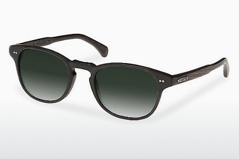 Lunettes de soleil Wood Fellas Haidhausen (10758 ebony/black/green)