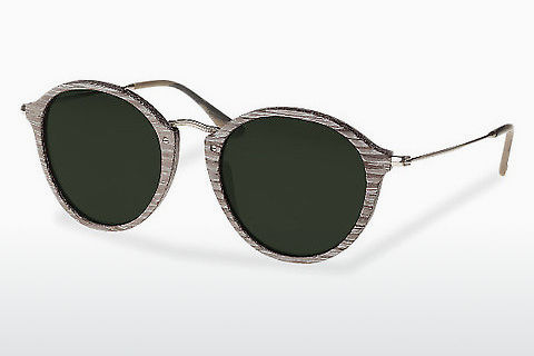 Lunettes de soleil Wood Fellas Nymphenburg (10760 chalk oak)