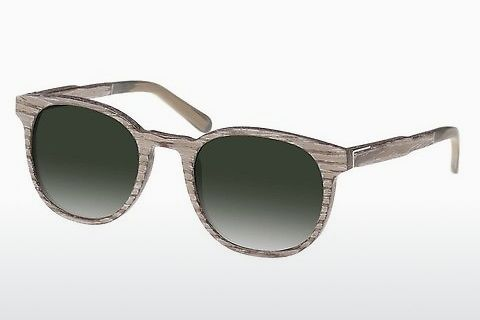 Lunettes de soleil Wood Fellas Neuhausen (10761 chalk oak/green)