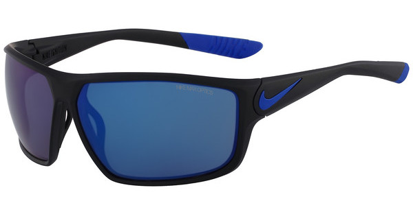 Nike   NIKE IGNITION R EV0867 004 MATTE BLACK/GAME ROYAL WITH GREY W/BLUE NIGHT FLASH  LENS