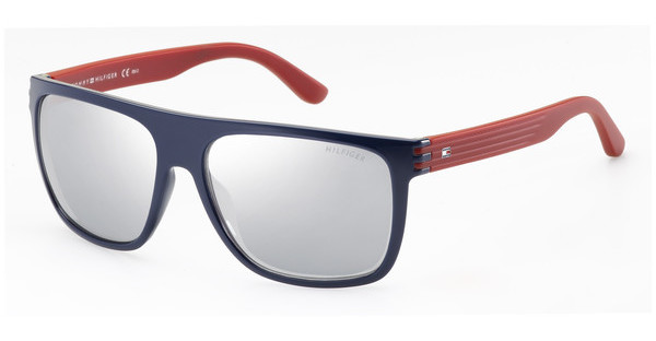 Tommy Hilfiger   TH 1277/S FEQ/3R GREY FL SLVBLUE RED