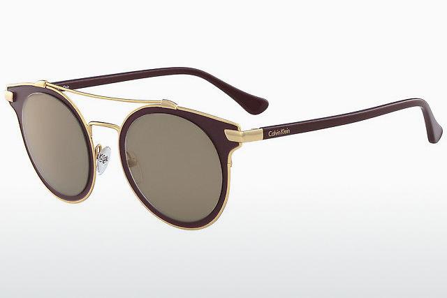 72a3a7338b99e7 Acheter des lunettes de soleil Calvin Klein en ligne à prix très bas